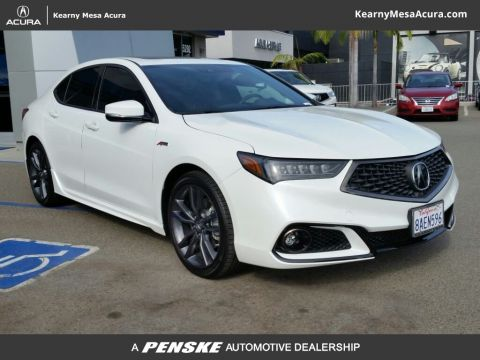 Certified Used Acura TLX 3.5 V-6 9-AT P-AWS with A-SPEC