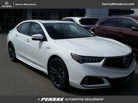 New Acura TLX 3.5 V-6 9-AT SH-AWD with A-SPEC RED