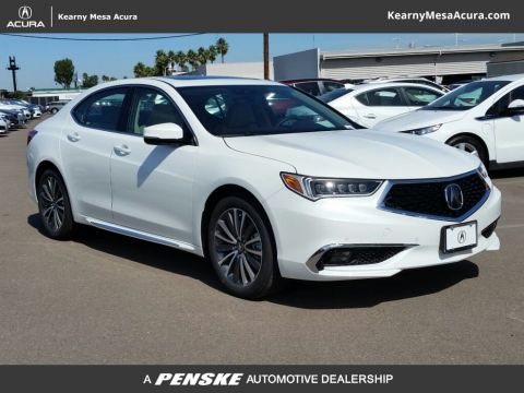 New 2018 Acura TLX 3.5 V-6 9-AT SH-AWD with Advance Package With Navigation