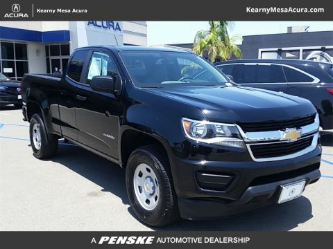 "Pre-Owned 2017 Chevrolet Colorado 2WD Ext Cab 128.3"" WT"