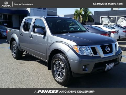 Pre-Owned 2018 Nissan Frontier Crew Cab 4x4 PRO-4X Automatic