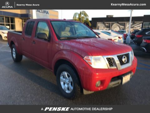 Pre-Owned 2012 Nissan Frontier 2WD Crew Cab LWB Automatic SV