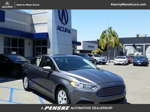 Used Ford Fusion 4dr Sedan S FWD