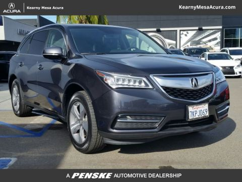 Certified Used Acura MDX Base