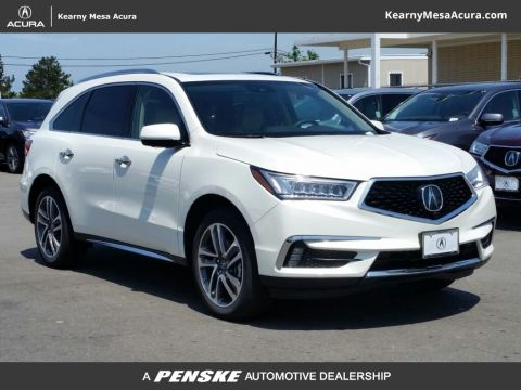 New Acura MDX with Advance and Entertainment Packages