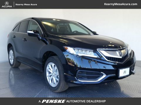 New 2018 Acura RDX FWD w/Technology Pkg