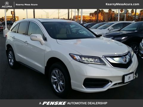 New 2018 Acura RDX with Technology and AcuraWatch Plus Packages With Navigation