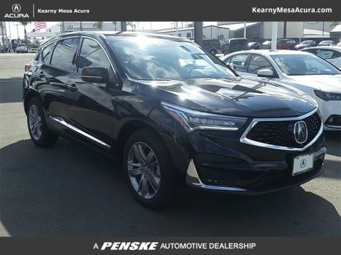 New 2019 Acura RDX FWD w/Advance Pkg