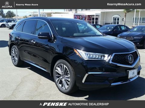 New 2019 Acura MDX TECH 7P