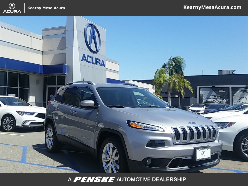 Pre Owned 2017 Jeep Cherokee Limited FWD