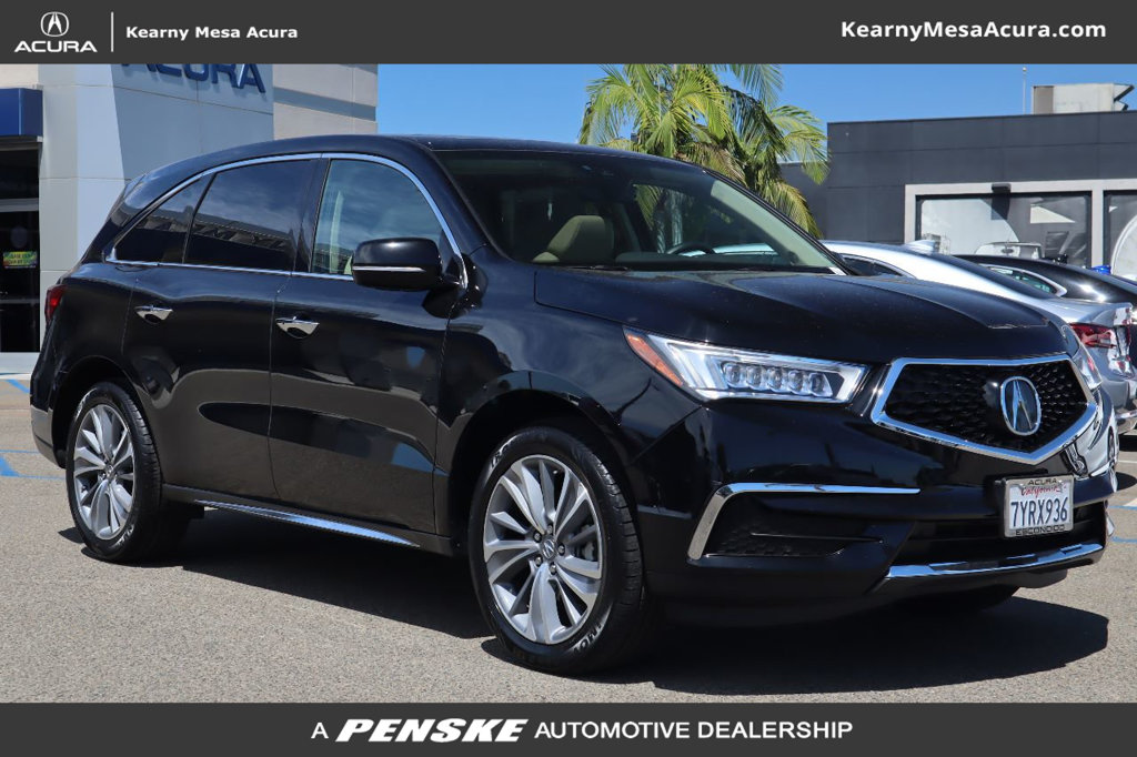 Certified Pre-Owned 2017 Acura MDX with Technology and Entertainment Packages