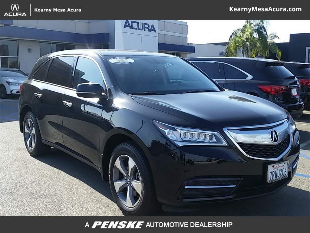 Certified PreOwned Acura MDX SHAWD SUV In San Diego A - Acura mdx pre owned