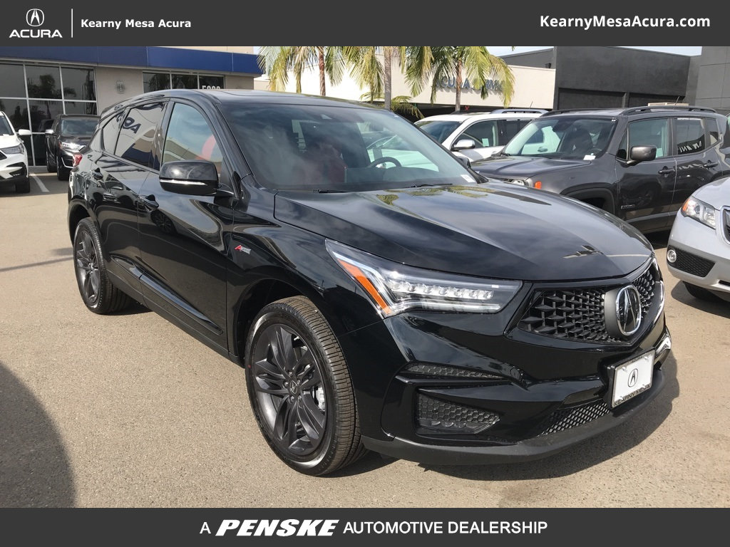 Kearny Mesa Acura >> New 2019 Acura RDX with A-Spec Package SUV in San Diego ...