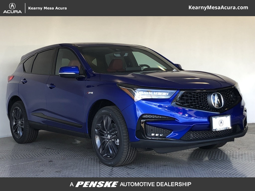 New 2019 Acura Rdx With A Spec Package Suv In San Diego 67004