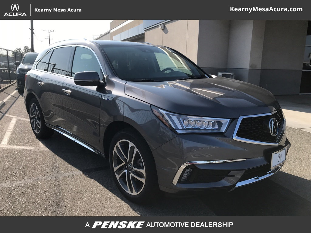 Kearny Mesa Acura >> New 2019 Acura Mdx Sport Hybrid Sh Awd With Advance Package Suv In