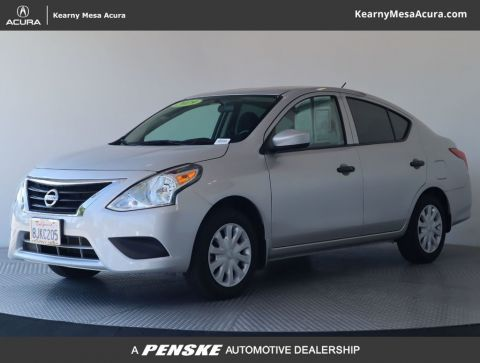 Pre-Owned 2019 Nissan Versa Sedan S Manual