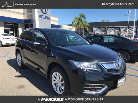 Certified Pre-Owned 2018 Acura RDX AWD with AcuraWatch Plus