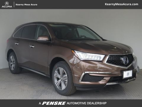 New 2019 Acura MDX Base