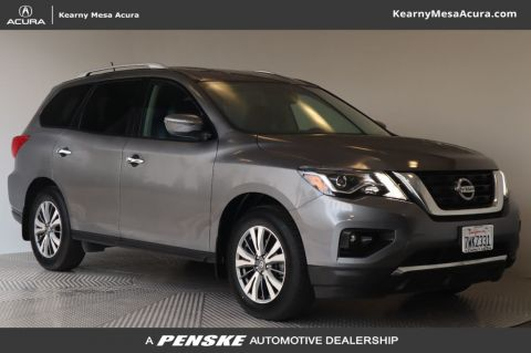 Pre-Owned 2017 Nissan Pathfinder FWD S